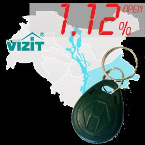 "(1,12%)-Ключ ""№10"" (Vizit)"