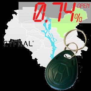 "(0,74%)-Ключ ""№34К"" (Cyfral)"