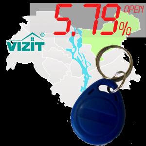 "(5,79%)-Ключ ""№6"" (Vizit)"