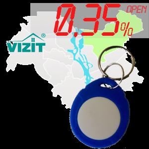 "(0,35%)-Ключ ""№52К"" (Vizit)"