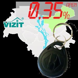 "(0,35%)-Ключ ""№65К"" (Vizit)"