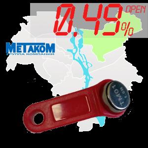 """(0,49%)-Ключ """"№8"""" (Metakom)"""