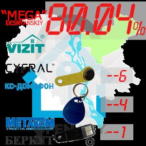 """(80,04%)-Деснянський  р-н. Комплект: """"Mega"""""""