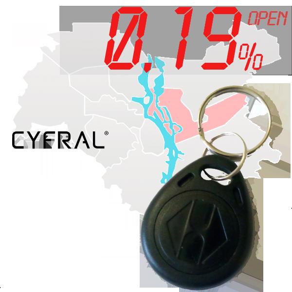 "(0,19%)-Ключ ""№34К"" (Cyfral)"