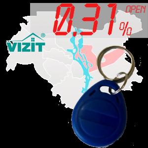 "(0,31%)-Ключ ""№46К"" (Vizit)"