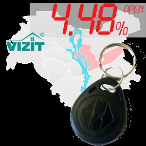 "(4,48%)-Ключ ""№6"" (Vizit)"