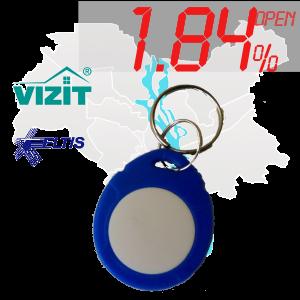 """(1,84%)-Ключ """"№16К"""" (Vizit, Eltis)"""