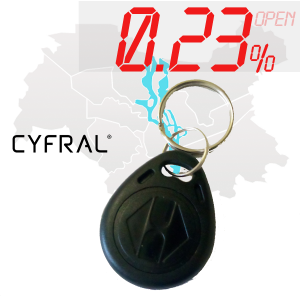 "(0,23%)-Ключ ""№36К"" (Cyfral)"