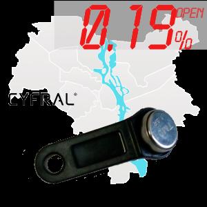 "(0,19%)-Ключ ""№39К"" (Cyfral)"