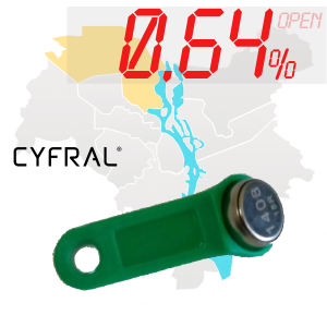 "(0,64%)-Ключ ""№7К"" (Cyfral)"