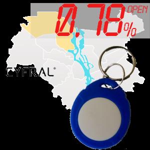 "(0,78%)-Ключ ""№17К"" (Cyfral)"