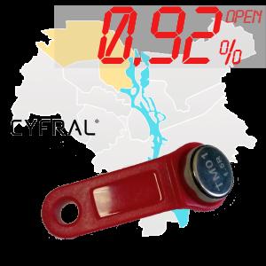 "(0,92%)-Ключ ""№35К"" (Cyfral)"