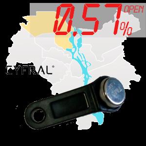 "(0,57%)-Ключ ""№41К"" (Cyfral)"