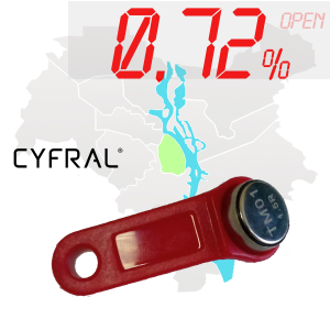 "(0,72%)-Ключ ""№56К"" (Cyfral)"