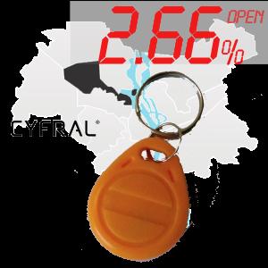 "(2,66%)-Ключ ""№17К"" (Cyfral)"