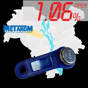 """(1,06%)-Ключ """"№8"""" (Metakom)"""
